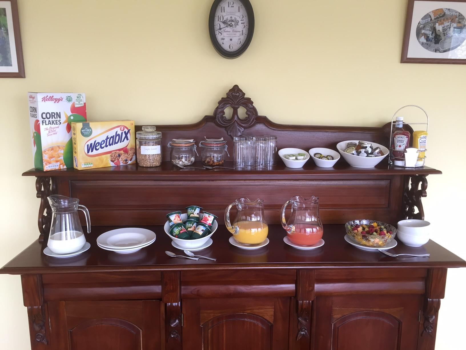 Breakfast at St Andrews House Lyme Regis